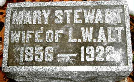 STEWART ALT, MARY - Johnson County, Iowa | MARY STEWART ALT