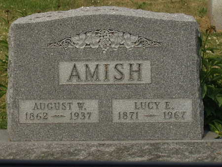 AMISH, AUGUST W. - Johnson County, Iowa | AUGUST W. AMISH