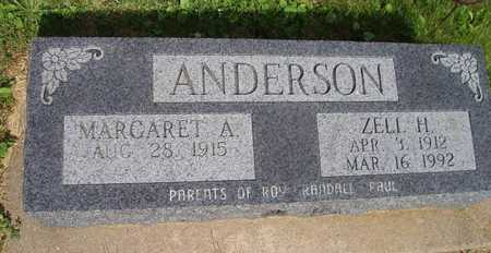 FERGUSON ANDERSON, MARGARET ALICE - Johnson County, Iowa | MARGARET ALICE FERGUSON ANDERSON