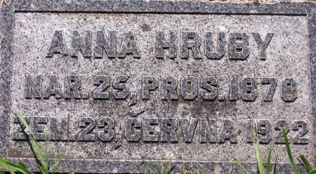 ANNA, HRUBY - Johnson County, Iowa | HRUBY ANNA