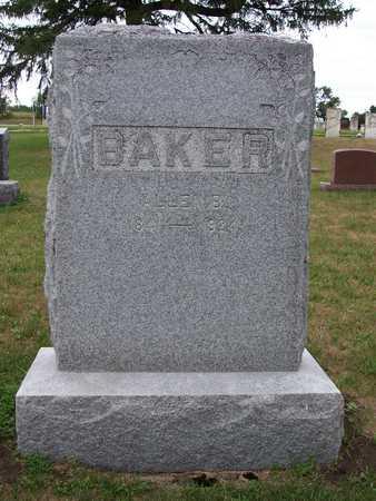BAKER, ALLEN B - Johnson County, Iowa | ALLEN B BAKER
