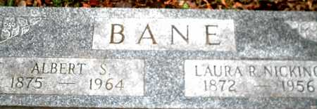 BANE, ALBERT S. - Johnson County, Iowa | ALBERT S. BANE