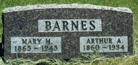 BARNES, ARTHUR & MARY - Johnson County, Iowa | ARTHUR & MARY BARNES