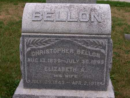 BELLON, ELIZABETH - Johnson County, Iowa | ELIZABETH BELLON