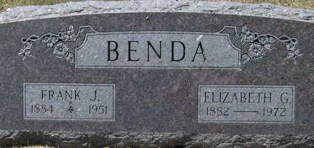 BENDA, ELIZABETH G - Johnson County, Iowa | ELIZABETH G BENDA
