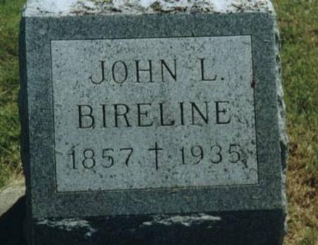 BIRELINE, JOHN L. - Johnson County, Iowa | JOHN L. BIRELINE