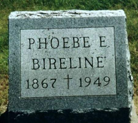 BIRELINE, PHOEBE - Johnson County, Iowa | PHOEBE BIRELINE