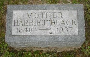 BLACK, HARRIET - Johnson County, Iowa | HARRIET BLACK
