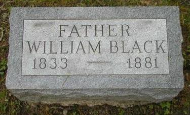 BLACK, WILLIAM - Johnson County, Iowa | WILLIAM BLACK