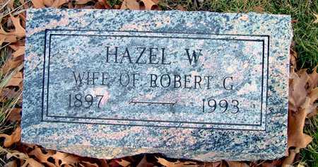 BOWMAN, HAZEL W - Johnson County, Iowa | HAZEL W BOWMAN