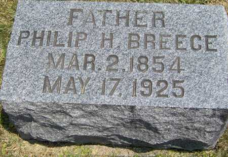 BREECE, PHILIP H - Johnson County, Iowa | PHILIP H BREECE