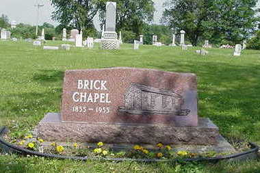 BRICK CHAPEL/NORTH SCOTT, CEMETERY - Johnson County, Iowa | CEMETERY BRICK CHAPEL/NORTH SCOTT