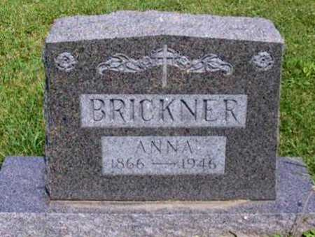 BRICKNER, ANNA - Johnson County, Iowa | ANNA BRICKNER