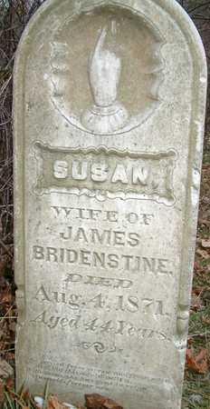 BRIDENSTINE, SUSAN - Johnson County, Iowa   SUSAN BRIDENSTINE