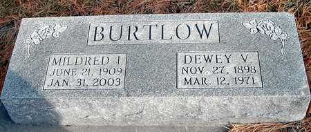BURTLOW, MILDRED I - Johnson County, Iowa | MILDRED I BURTLOW