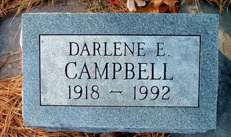 CAMPBELL, DARLENE E - Johnson County, Iowa | DARLENE E CAMPBELL