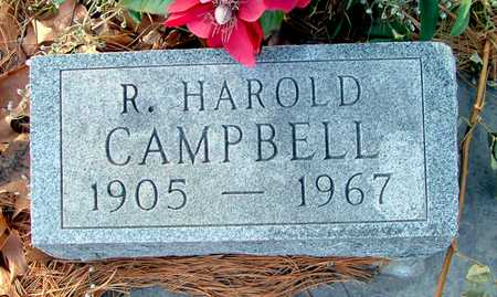 CAMPBELL, R. HAROLD - Johnson County, Iowa | R. HAROLD CAMPBELL