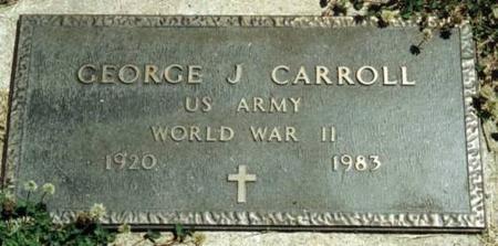 CARROLL, GEORGE J. - Johnson County, Iowa | GEORGE J. CARROLL