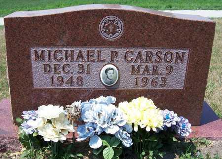 CARSON, MICHAEL - Johnson County, Iowa | MICHAEL CARSON