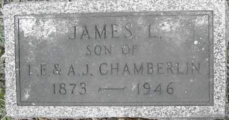 CHAMBERLIN, JAMES L - Johnson County, Iowa | JAMES L CHAMBERLIN