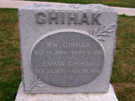 CHIHAK, WILLIAM - Johnson County, Iowa | WILLIAM CHIHAK