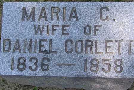 CORLETT, MARIA G - Johnson County, Iowa | MARIA G CORLETT