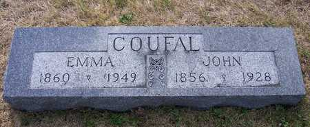 COUFAL, JOHN - Johnson County, Iowa | JOHN COUFAL