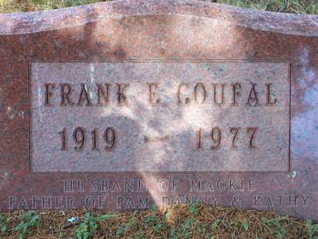 COUFAL, FRANK - Johnson County, Iowa | FRANK COUFAL