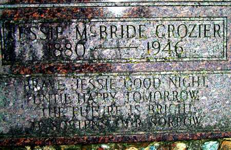 CROZIER, JESSIE - Johnson County, Iowa | JESSIE CROZIER