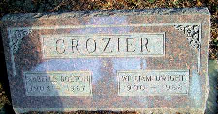 CROZIER, WILLIAM DWIGHT - Johnson County, Iowa | WILLIAM DWIGHT CROZIER