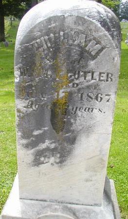CUTLER, WILLIAM - Johnson County, Iowa | WILLIAM CUTLER