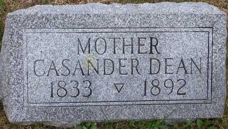 DEAN, CASANDER - Johnson County, Iowa | CASANDER DEAN