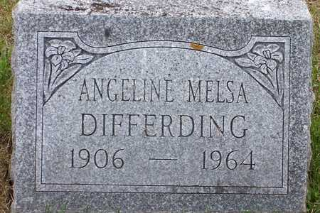 MELSA DIFFERDING, ANGELINE - Johnson County, Iowa | ANGELINE MELSA DIFFERDING