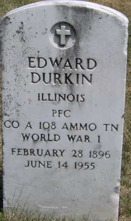 DURKIN, EDWARD - Johnson County, Iowa | EDWARD DURKIN