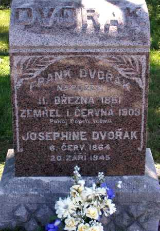 DVORAK, JOSEPHINE - Johnson County, Iowa | JOSEPHINE DVORAK