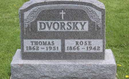 DVORSKY, THOMAS - Johnson County, Iowa | THOMAS DVORSKY