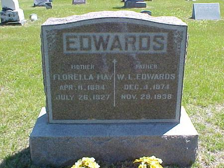 SWEET EDWARDS, FLORELLA MAY - Johnson County, Iowa | FLORELLA MAY SWEET EDWARDS