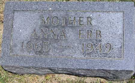 ERB, ANNA - Johnson County, Iowa | ANNA ERB