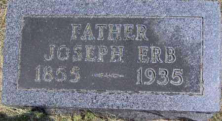 ERB, JOSEPH - Johnson County, Iowa   JOSEPH ERB