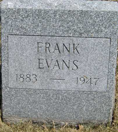 EVANS, FRANK - Johnson County, Iowa | FRANK EVANS