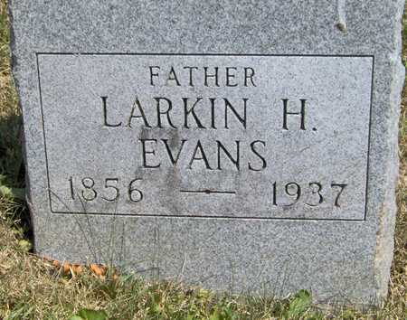 EVANS, LARKIN H - Johnson County, Iowa | LARKIN H EVANS
