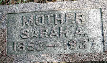 FILES, SARAH A - Johnson County, Iowa   SARAH A FILES