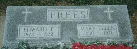 FREES, EDWARD & MARY - Johnson County, Iowa | EDWARD & MARY FREES