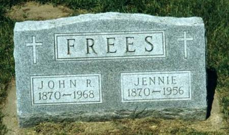 FREES, JOHN & JENNIE - Johnson County, Iowa | JOHN & JENNIE FREES