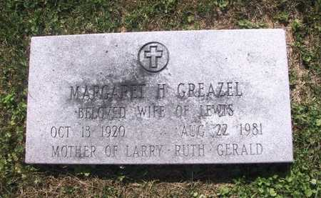 GREAZEL, MARGARET H - Johnson County, Iowa | MARGARET H GREAZEL