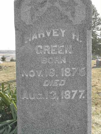 GREEN, HARVEY H - Johnson County, Iowa | HARVEY H GREEN