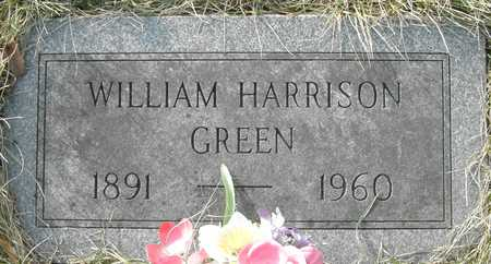 GREEN, WILLIAM HARRISON - Johnson County, Iowa | WILLIAM HARRISON GREEN