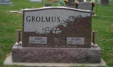 GROLMUS, JOHN