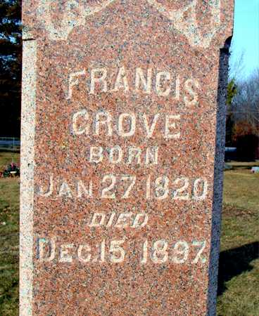 GROVE, FRANCES - Johnson County, Iowa | FRANCES GROVE