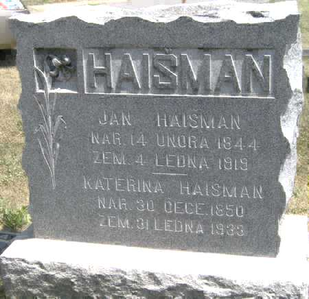 HAISMAN, KATERINA - Johnson County, Iowa | KATERINA HAISMAN